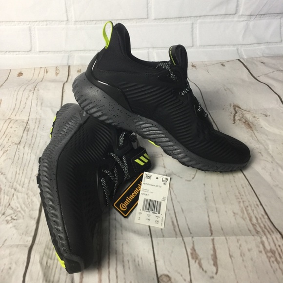 3bbbfd5d0e1e9 Adidas Alphabounce EM Running Shoes Youth Size 6